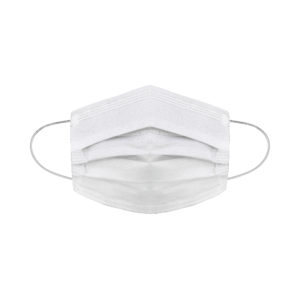 white medical face mask