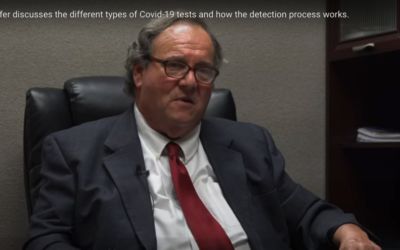 Dr. Schaffer Discusses the Different Types of Covid-19 Tests and How the Detection Process Works.